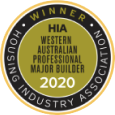 HIA WA Major Builder 2020 Winner