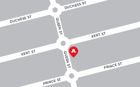 South West Showroom location map
