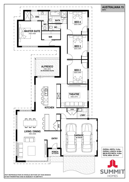 Australiana 15 floorplan