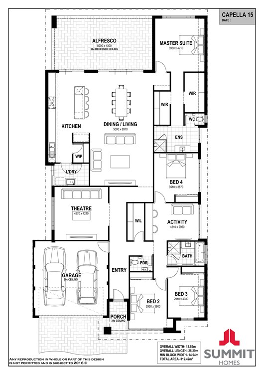Capella 15 floor plan
