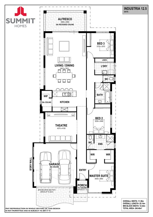 Industria 12.5 floor plan