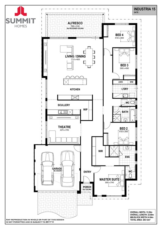Industria 15 floorplan