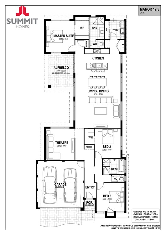 Manor 12.5 floor plan