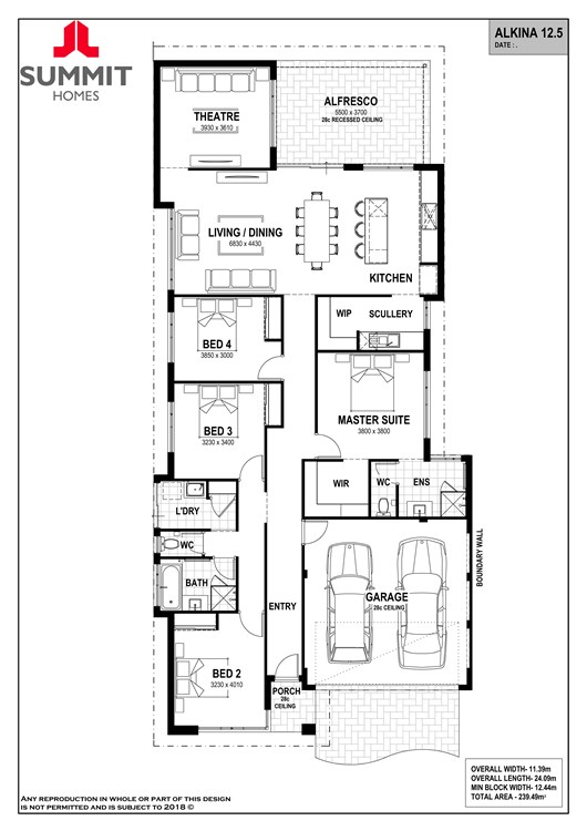 Alkina 12.5 floorplan
