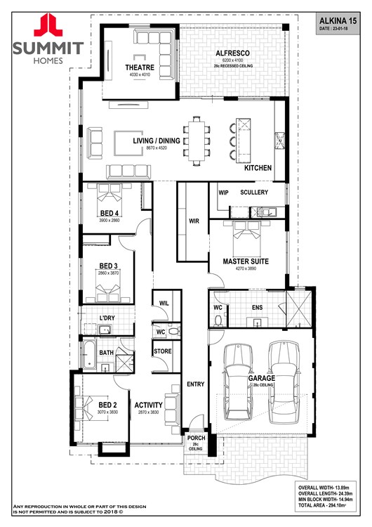 Alkina 15 floor plan