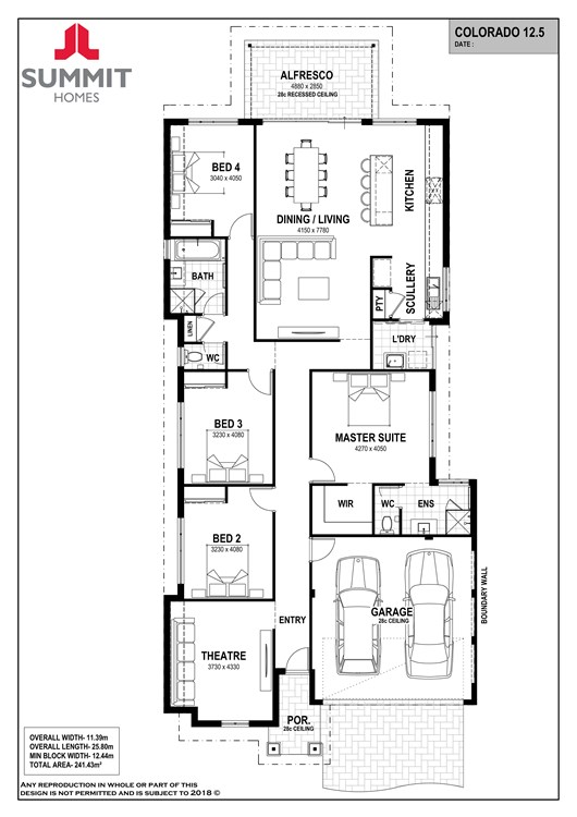 Colorado 12.5 floor plan