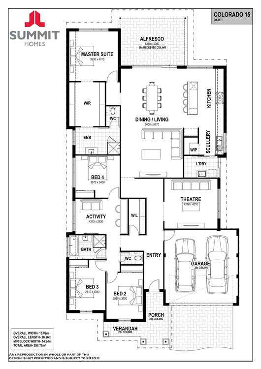 Colorado 15 floor plan