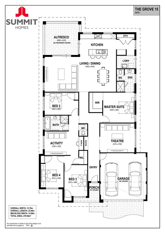 Grove 15 floor plan