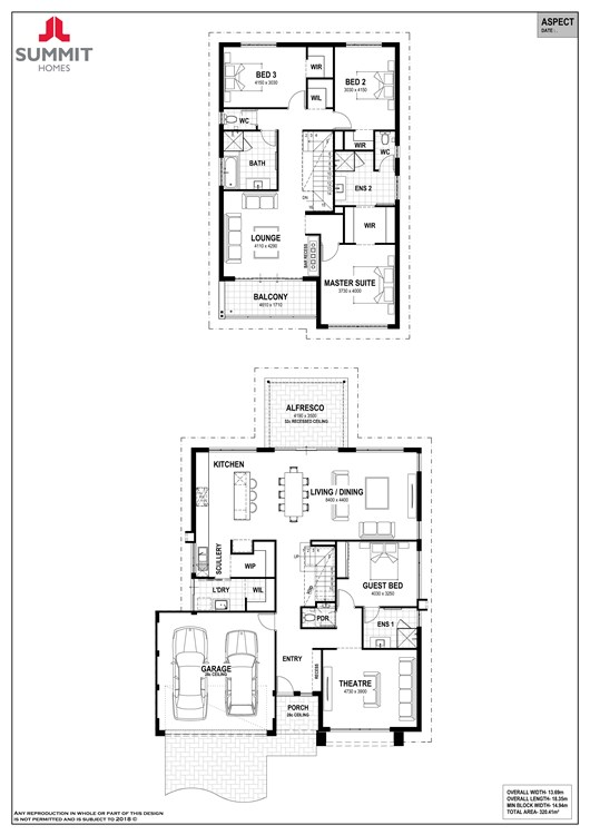 Aspect floorplan