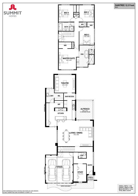Daintree 12.5 floorplan