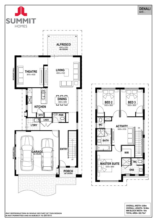 Denali 10 floor plan