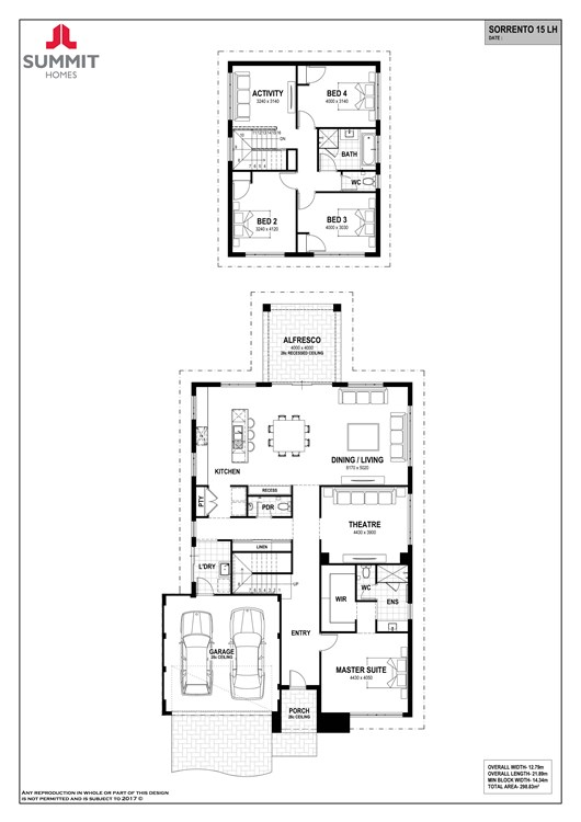 Sorrento 15 floorplan