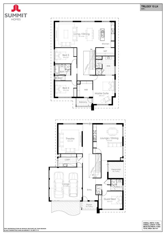 Trilogy 15 floor plan