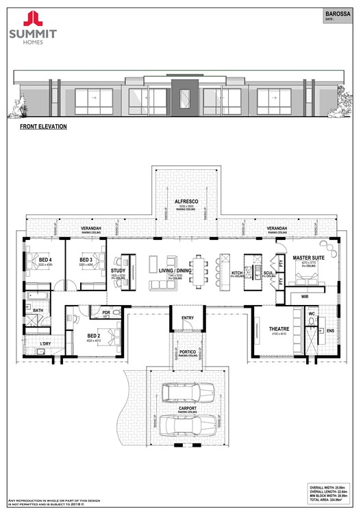 Barossa floor plan