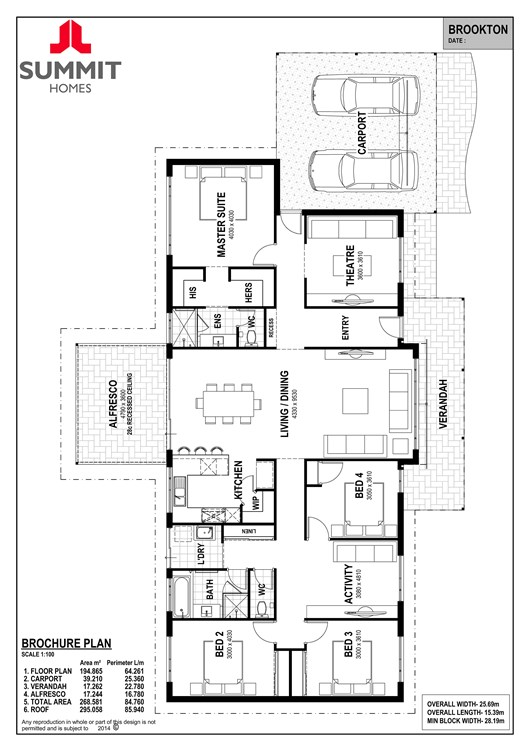 Brookton floor plan