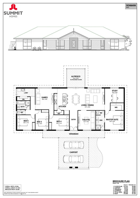 Denmark floor plan