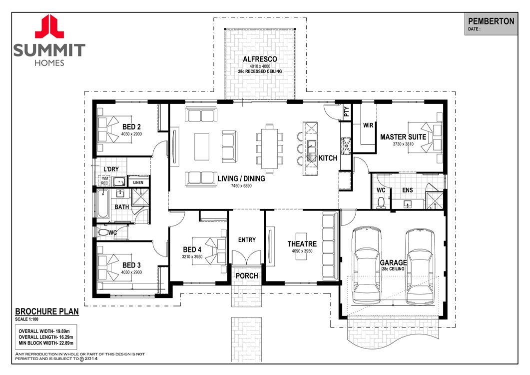 Pemberton floor plan
