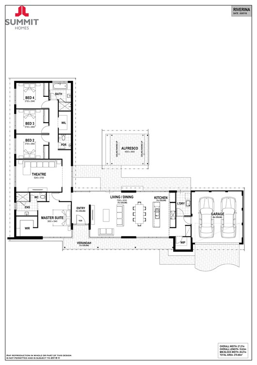 Riverina floorplan