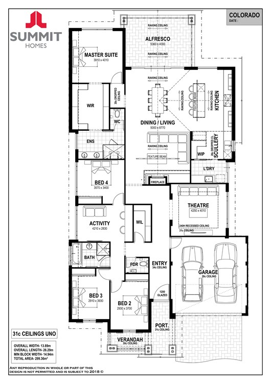 Colorado floor plan