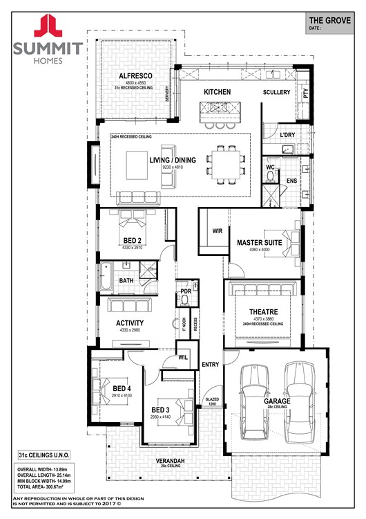 Grove floor plan