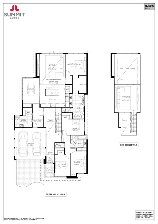 Reserve Redgate Estate  floor plan
