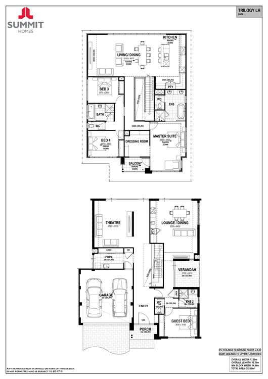 Trilogy floorplan