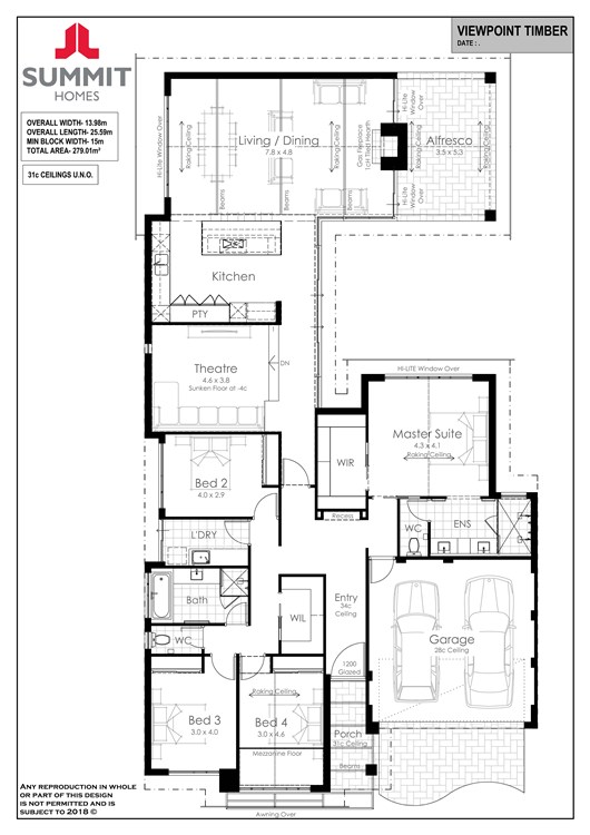 Viewpoint floor plan