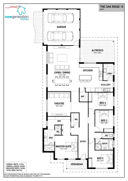 Oak Ridge 15 floor plan