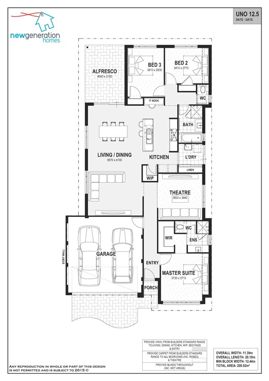 Vasse  floor plan
