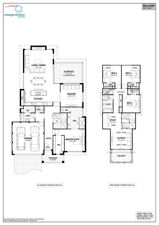 Bellport floor plan