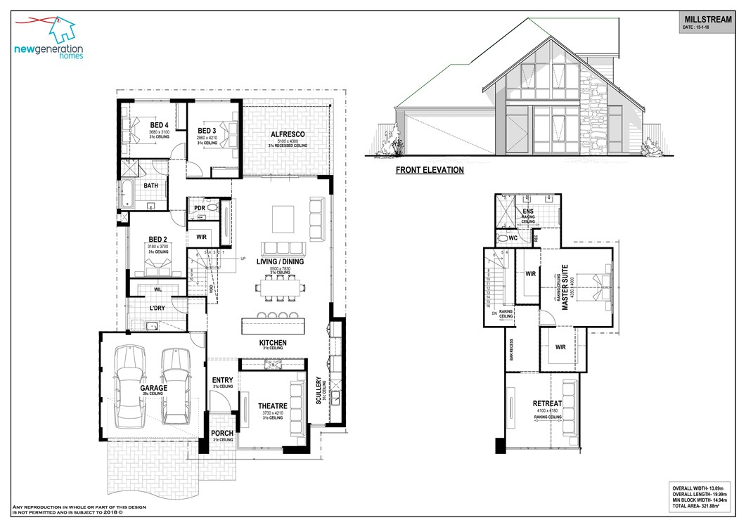 Millstream floor plan