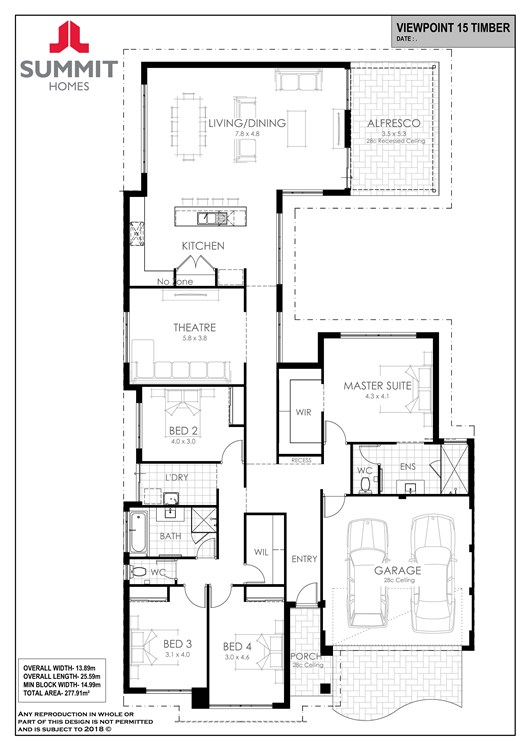 Viewpoint 15 floor plan