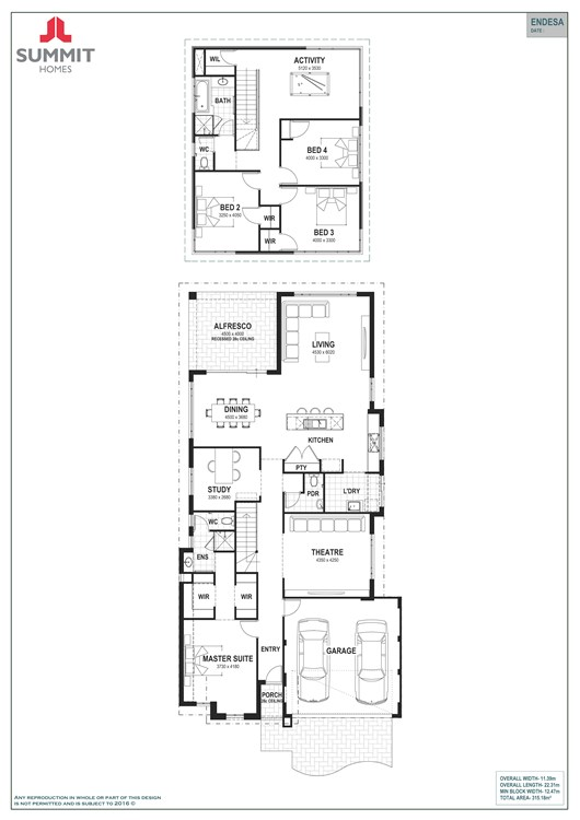Endesa 12.5 floor plan