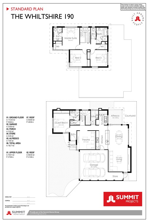 Whiltshire floor plan