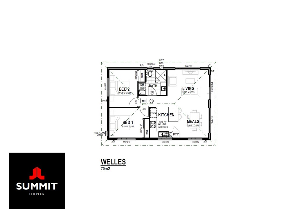 Welles floor plan