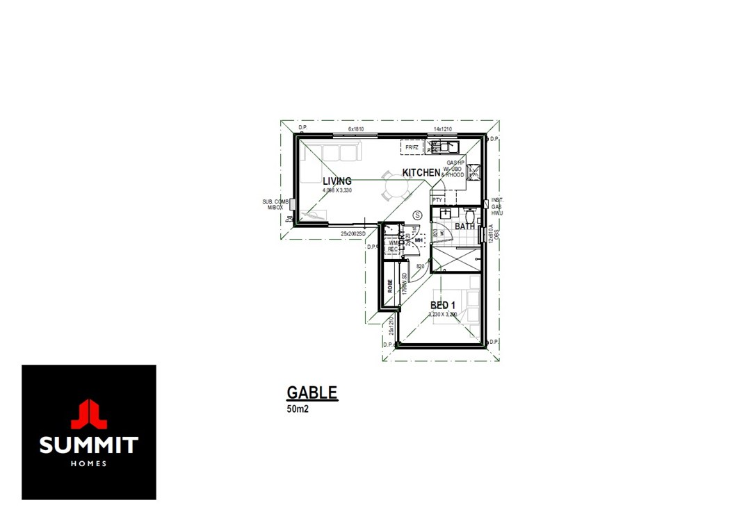 The Gable floor plan