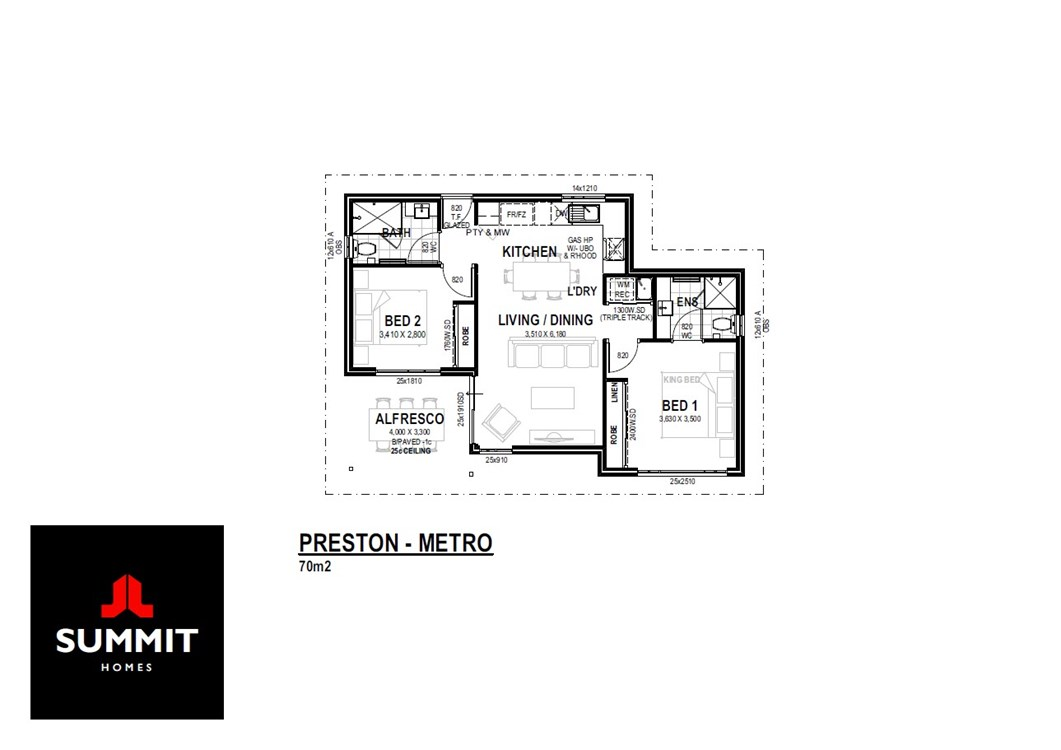 Preston floor plan