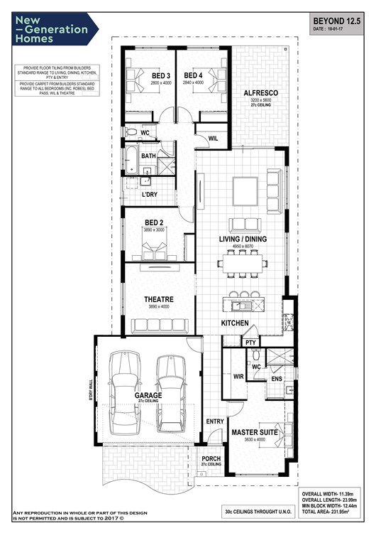 Dunsborough Lakes floorplan