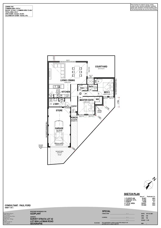 Navigators Retreat Estate floor plan