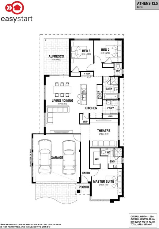 Cove Estate floor plan
