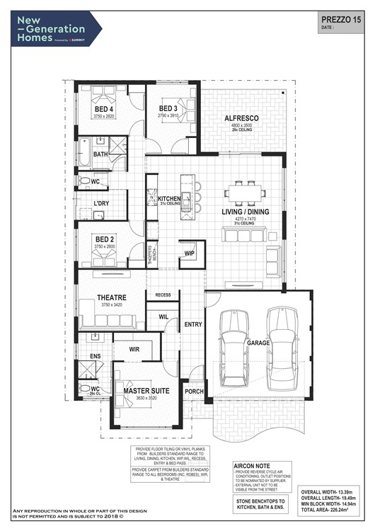 Australind floor plan
