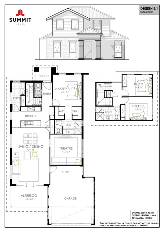 Stables on Spencer floor plan