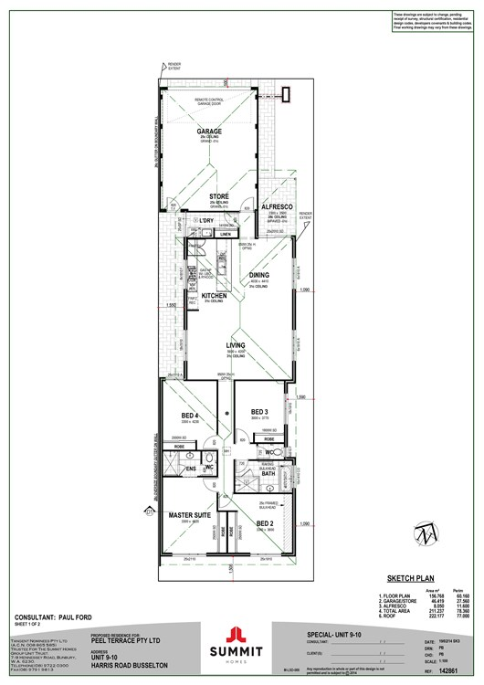 Harris Road Strata Lots  floor plan
