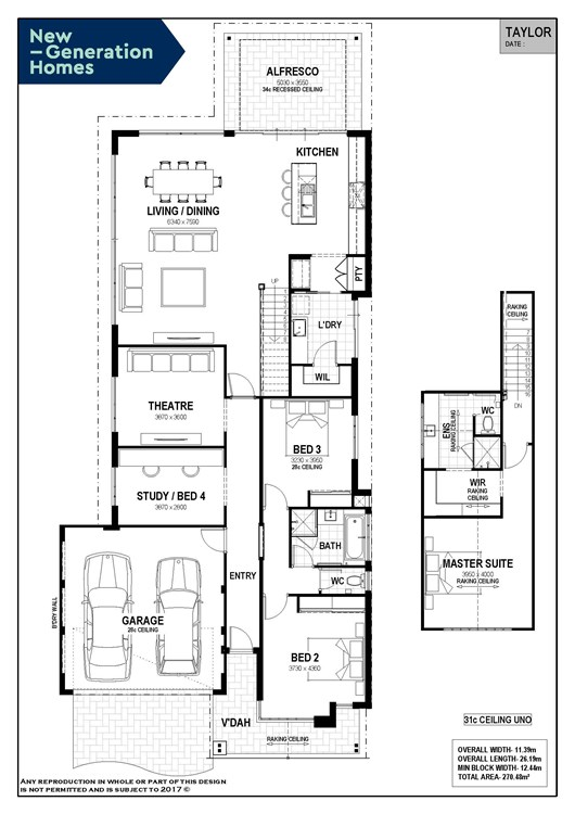 Reserve on Redgate - Lot 234 floor plan