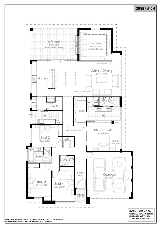 Greenwich floorplan