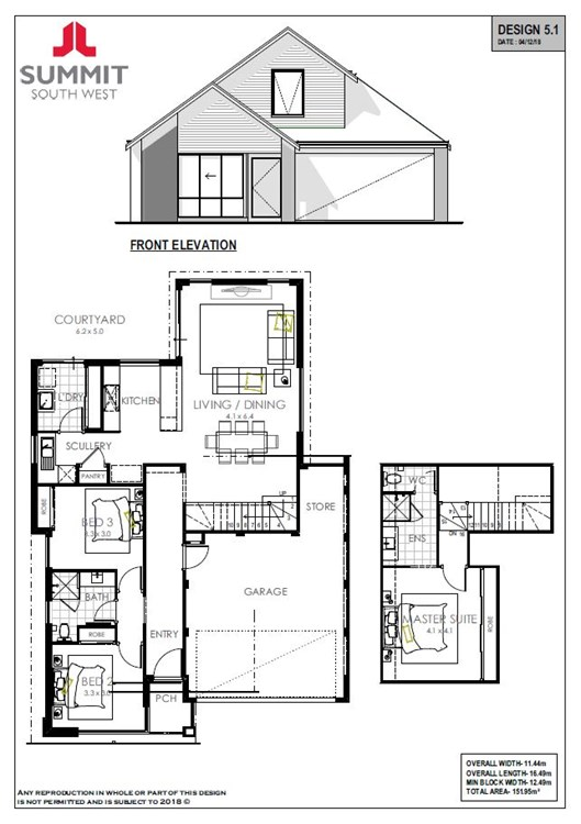 Mornington floorplan