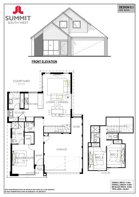 Ranwick floorplan