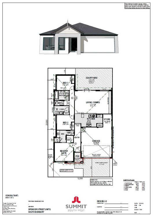 Caulfield in South Bunbury floorplan